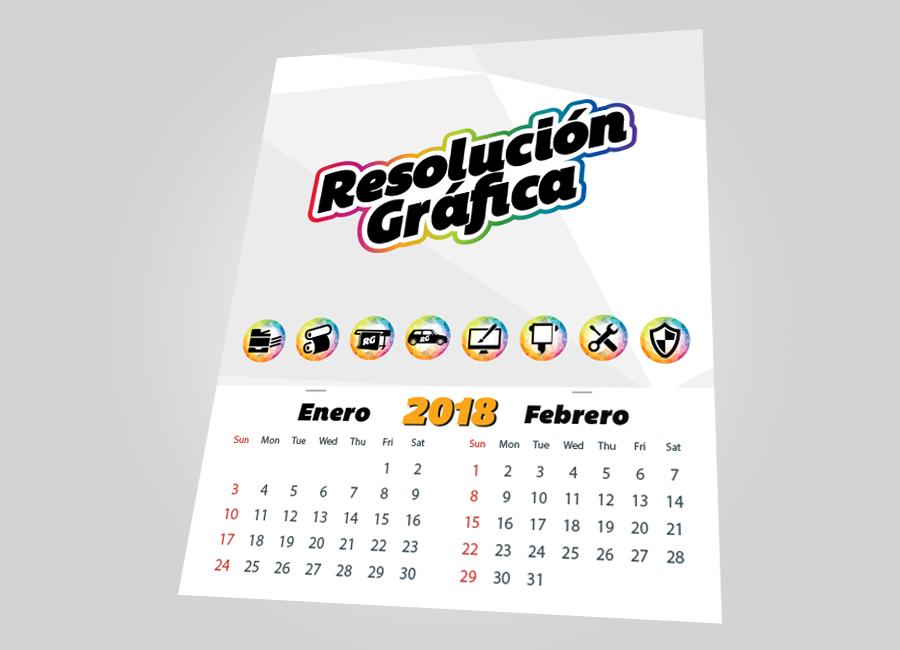 calendario 27×33