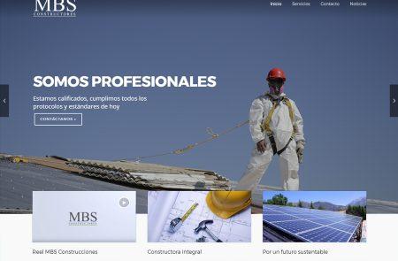 Diseño Web, MBS Construcciones
