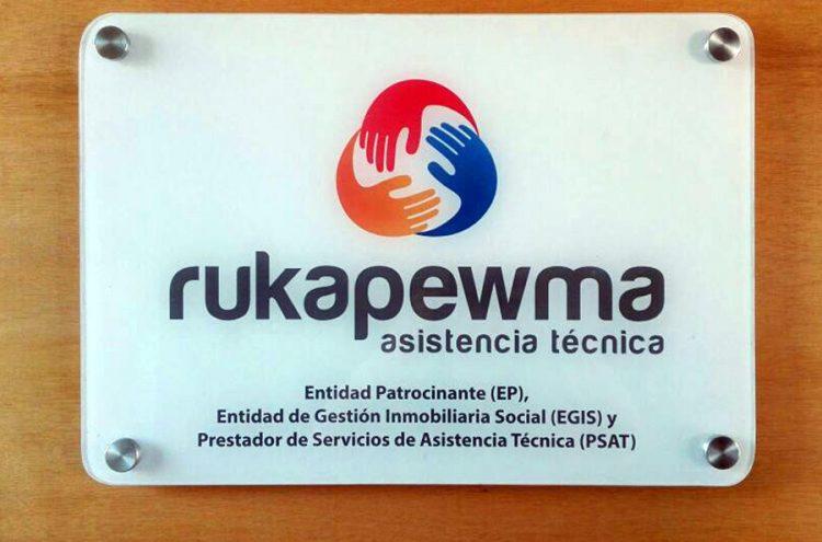 Placa Acrílico, Rukapewma