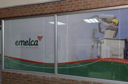 Instalación Vinilo Microperforado, Emelca