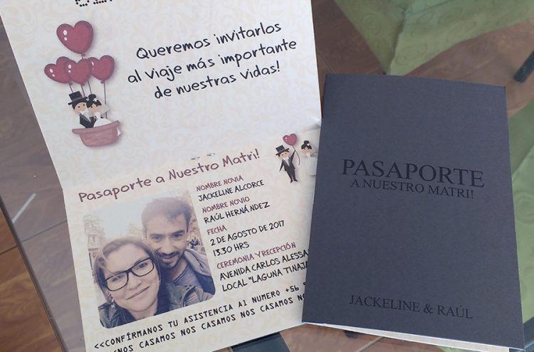Parte Matrimonio Personalizado