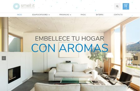 Desarrollo E-Commerce, Smell It