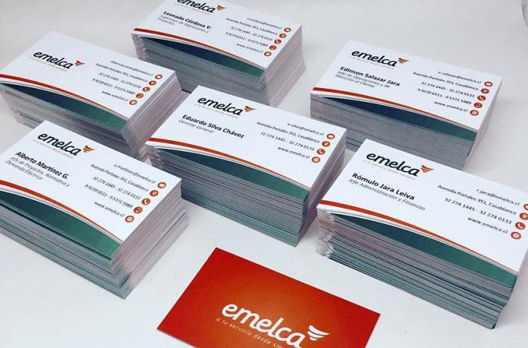 Tarjetas de presentación, Emelca