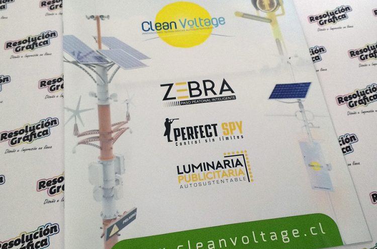 Impresión Revista, Clean Voltage