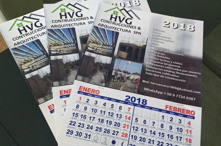 Calendarios bimensuales, HVG