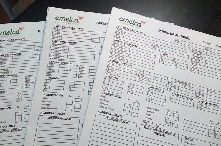 Talonarios Formularios Autocopiativos, Emelca