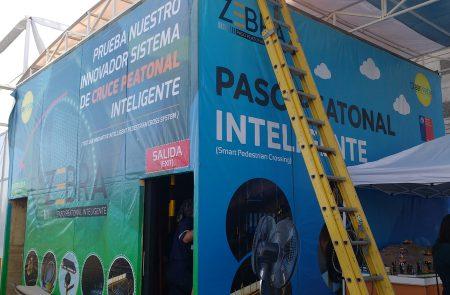 Gráfica para Expo Seguridad, Clean Voltage