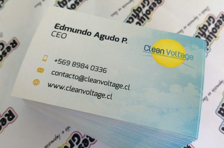 Tarjetas de Presentación, Clean Voltage