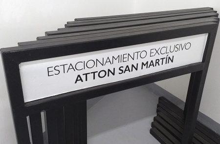 Barreras de Estacionamiento, Atton San Martin
