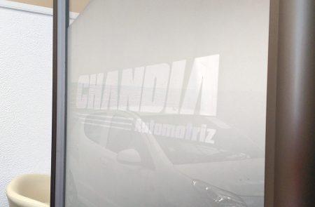 Instalación Empavonados, Chandia Automotriz