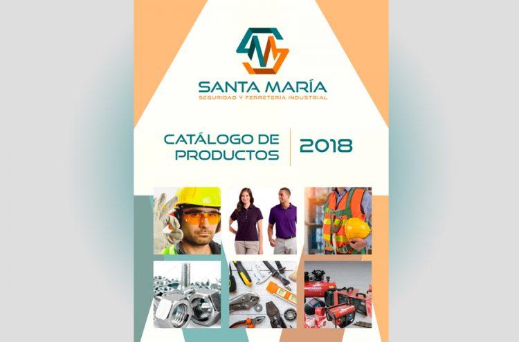 Diseño Catálogo de Productos, Santa María