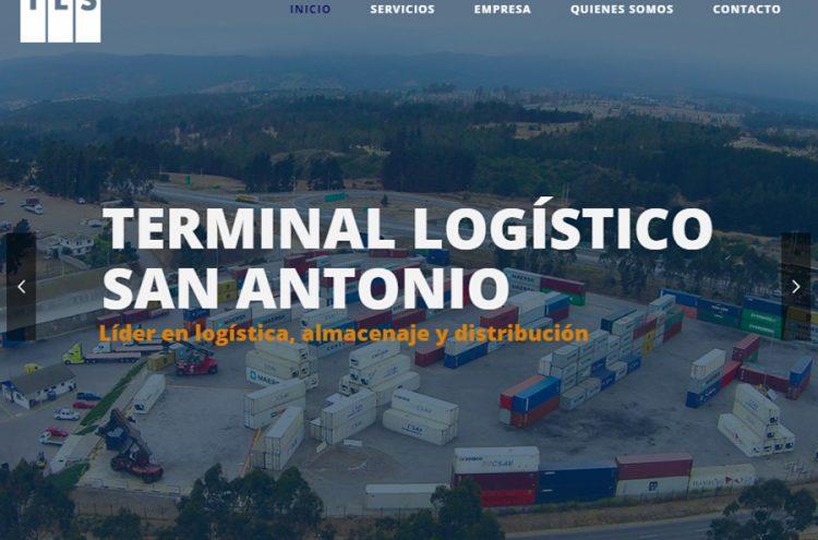 Desarrollo Web, Terminal Logístico San Antonio