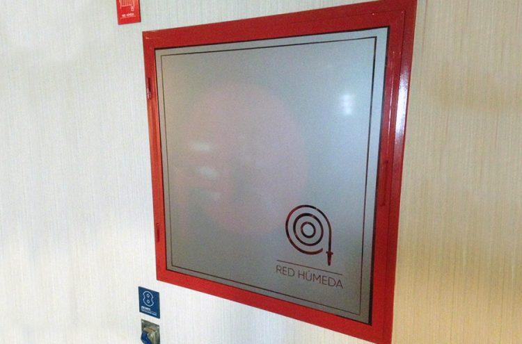 Instalación Empavonado, Hotel Atton
