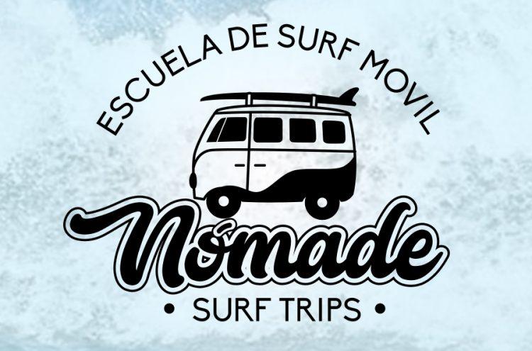 Diseño Marca, Nómade Surf Trips