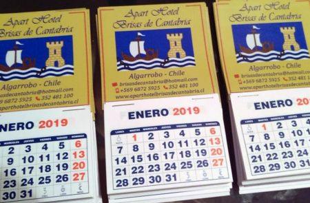 Mini Calendarios Magnéticos, Hotel Cantabria