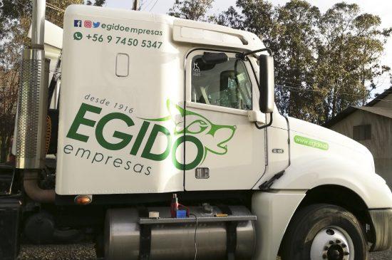 Rotulación de Camiones, Egido Empresas