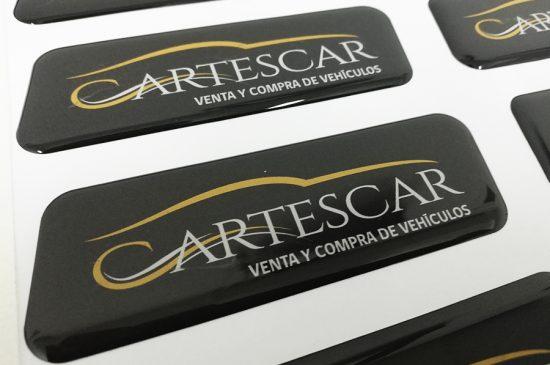 Adhesivos con Resina, Cartes Car