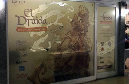 Instalación Gráficas, El Druida