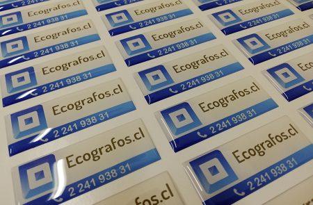 Adhesivos con Resina, Ecografos