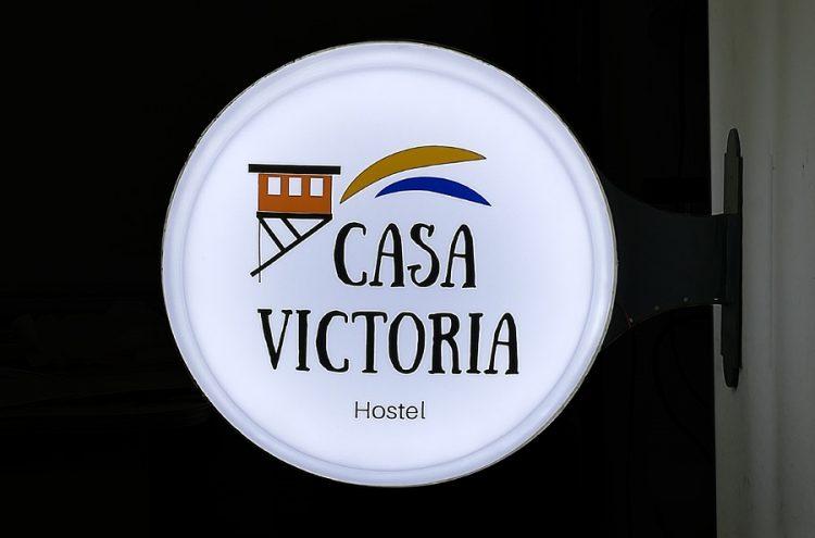 Instalación Caja de Luz Circular, Casa Victoria