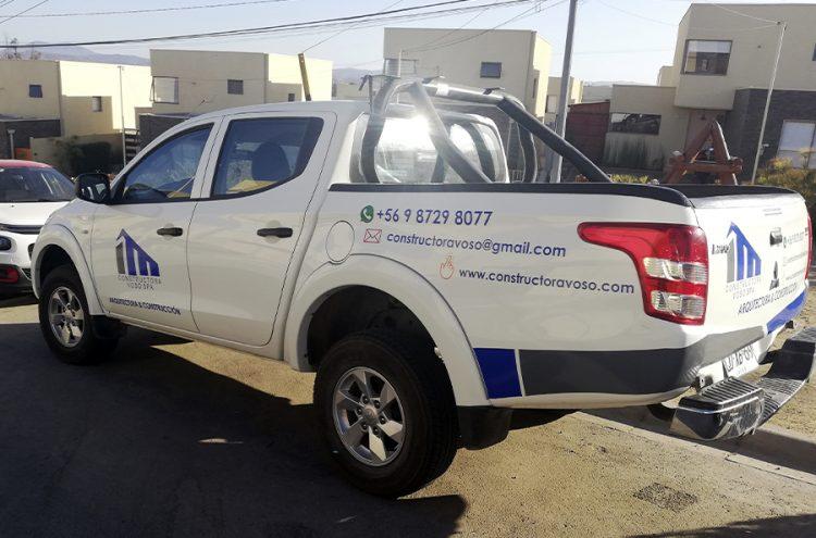 Rotulacion Vehicular, Constructora Voso
