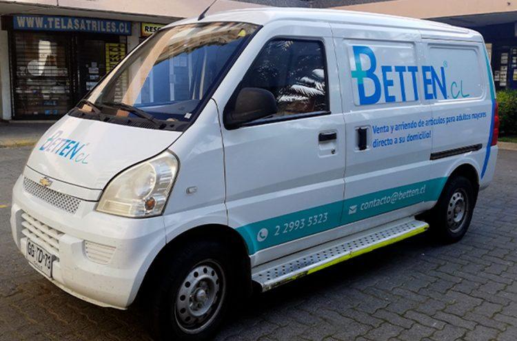 Rotulacion vehicular, Betten