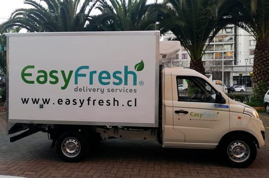 Rotulacion vehicular, Easy Fresh