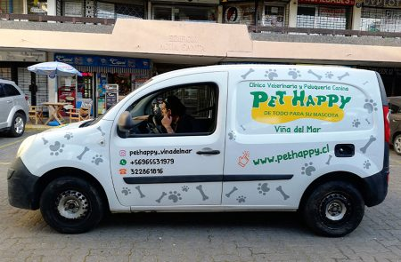 Rotulacion vehicular, Pet Happy
