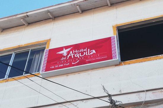 Instalación Cajas de Luz, Hostal El Aguila