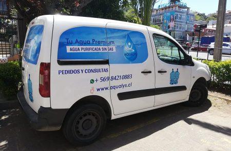 Rotulacion vehicular, Aqualys