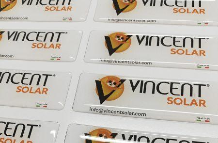 Adhesivos con Resina, Vincent Solar