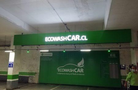 Instalación Letreros, Ecowashcar