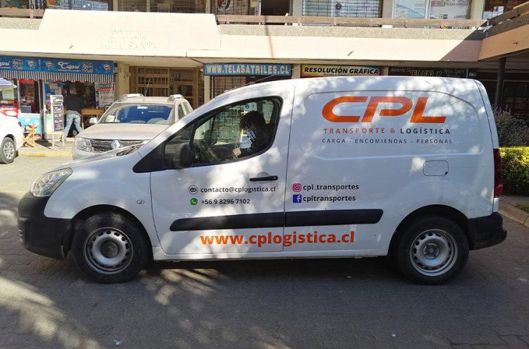 Rotulacion Vehicular, CPL Transportes